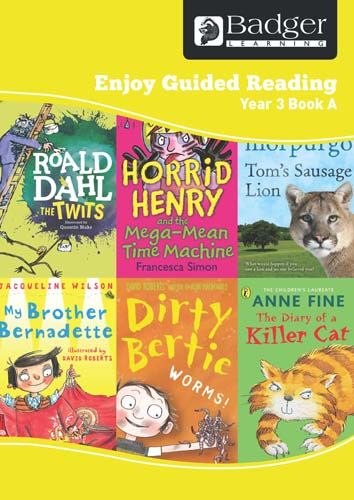 Enjoy Guided Reading Year 3 Book A Teacher Book & CD Badger Learning