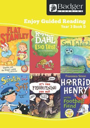 Enjoy Guided Reading Year 3 Book D Teacher Book & CD Badger Learning