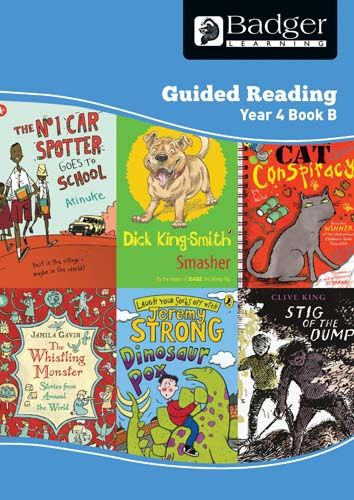 Enjoy Guided Reading Year 4 Book B Teacher Book & CD Badger Learning
