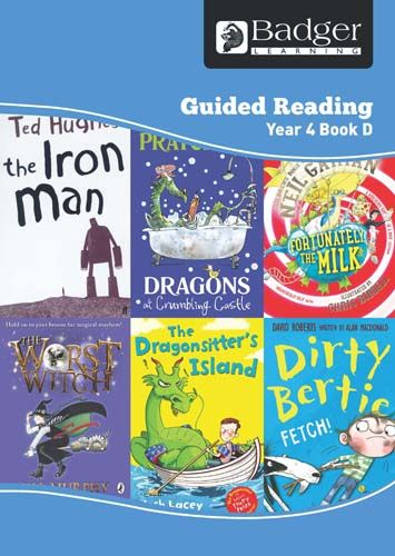 Enjoy Guided Reading Year 4 Book D Teacher Book & CD Badger Learning