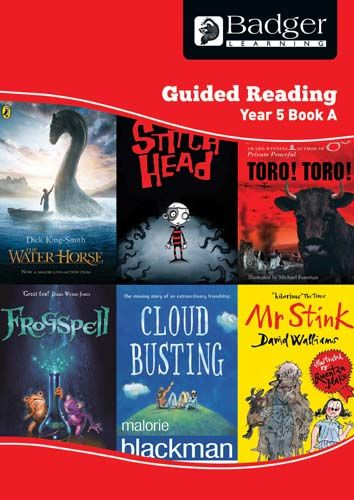 Enjoy Guided Reading Year 5 Book A Teacher Book & CD Badger Learning