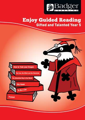 Enjoy Guided Reading Gifted & Talented Year 5 Teacher Book & CD Badger Learning