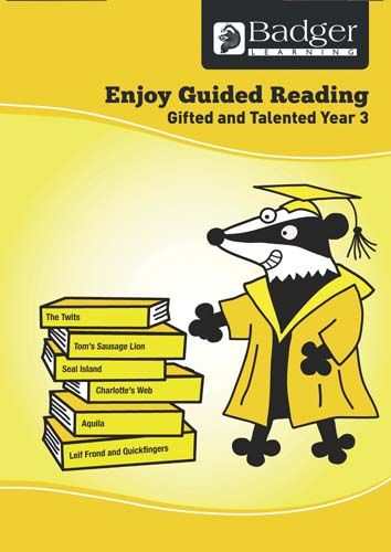 Enjoy Guided Reading Gifted & Talented Year 3 Teacher Book & CD Badger Learning