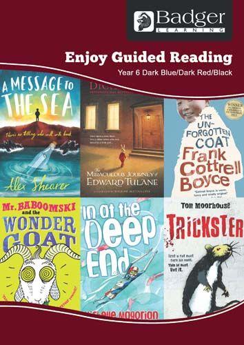 Enjoy Guided Reading KS2 Book Bands: Year 6 Dark Blue, Dark Red & Black Teacher Book & CD Badger Learning