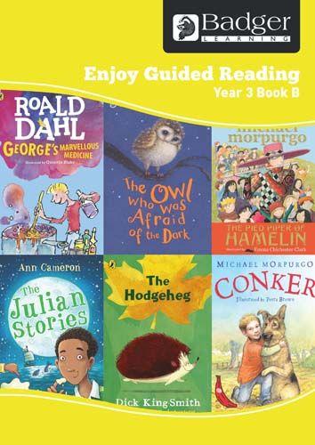 Enjoy Guided Reading Year 3 Book B Teacher Book & CD Badger Learning