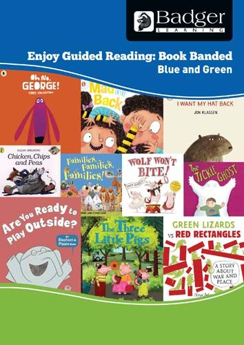 Enjoy Guided Reading Book Band - Blue and Green Teacher Book & CD Badger Learning