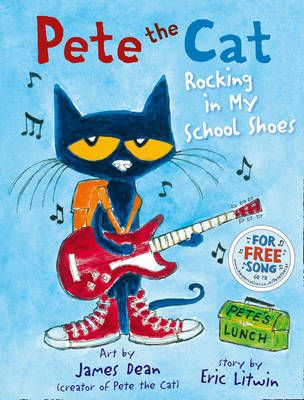 Pete the Cat Rocking in My School Shoes Badger Learning