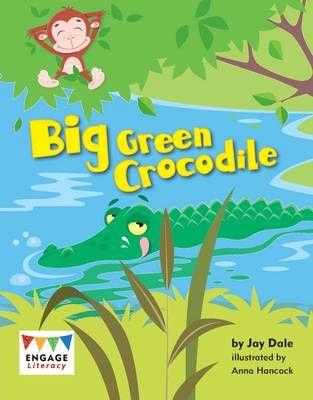 Big Green Crocodile Badger Learning
