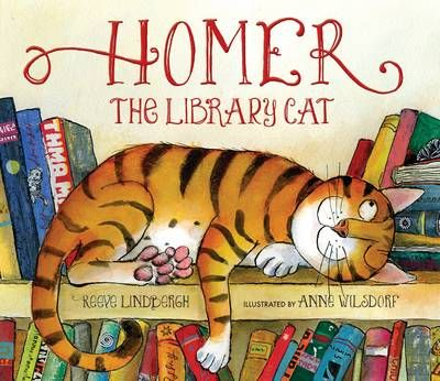 Homer, the Library Cat Badger Learning