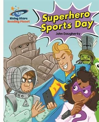 Superhero SPorts Day Badger Learning