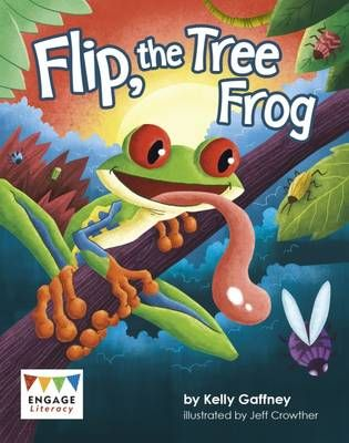 Flip, the Tree Frog Badger Learning