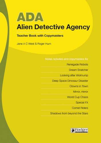 Alien Detective Agency: Teacher Book + CD Badger Learning