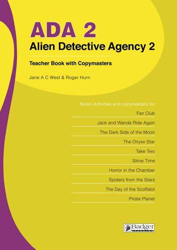 Alien Detective Agency Teacher Book 2 + CD Badger Learning