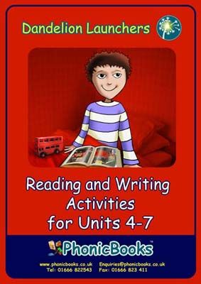 Dandelion Launchers: Reading and Writing Activities for Units 4-7 Badger Learning