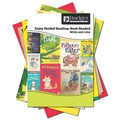 Enjoy Guided Reading Book Band - White and Lime Complete Pack