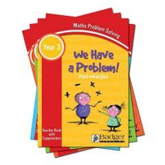 Maths Problem Solving - We Have a Problem Years 3 - 6 Pack - All 4 Teacher Books + CDs