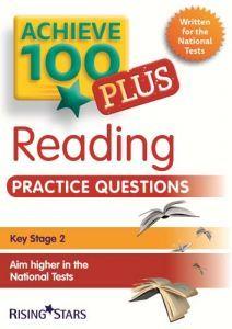 Achieve 100 PLUS Reading Practice Questions book