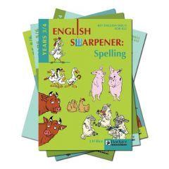 English Sharpener: All 4 Teacher Books and CDs