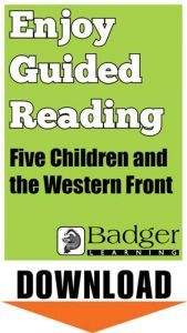 Enjoy Guided Reading: Five Children and the Western Front Teacher Notes