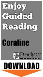 Enjoy Whole Class Guided Reading: Coraline Teacher Notes