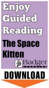 Enjoy Guided Reading: The Space Kitten Teacher Notes