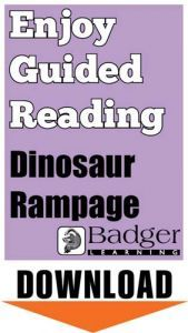 Enjoy Guided Reading: Dinosaur Rampage Teacher Notes