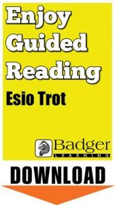Enjoy Guided Reading: Esio Trot Teacher Notes