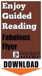 Enjoy Guided Reading: Fabulous Flyer Teacher Notes