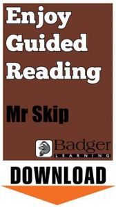 Enjoy Guided Reading: Mr Skip Teacher Notes