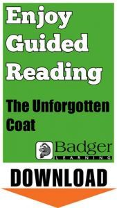 Enjoy Guided Reading: The Unforgotten Coat Teacher Notes