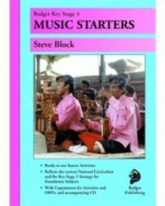 KS3 Music Starters with CD Years 7 to 9