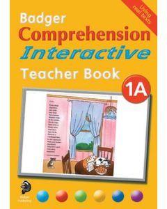 Badger Comprehension Interactive: Teacher Book 1A