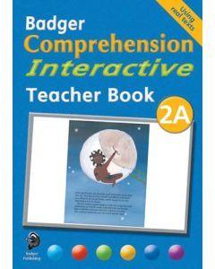 Badger Comprehension Interactive: Teacher Book 2A