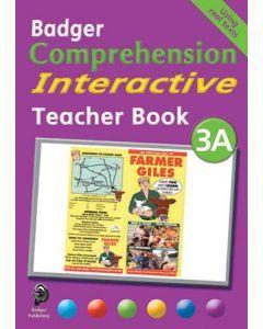 Badger Comprehension Interactive: Teacher Book 3A