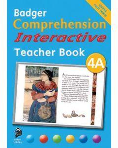 Badger Comprehension Interactive: Teacher Book 4A