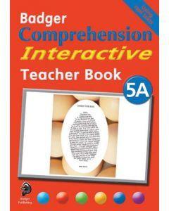 Badger Comprehension Interactive: Teacher Book 5A