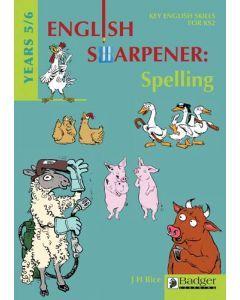 English Sharpener: Spelling Years 5/6 Teacher Book + CD