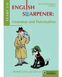 English Sharpener: Grammar & Punctuation Years 3/4 Teacher Book + CD