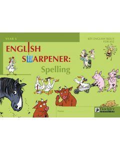 English Sharpener: Spelling Pupil Workbook - Pack of 6