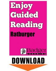 Enjoy Guided Reading: Ratburger Teacher Notes