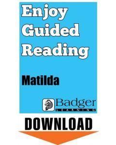 Enjoy Guided Reading: Matilda Teacher Notes