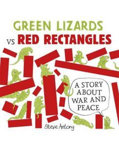 Green Lizards vs Red Rectangles - Pack of 6