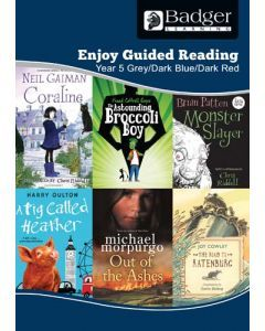 Enjoy Guided Reading KS2 Book Bands: Year 5 Grey, Dark Blue & Dark Red Teacher Book & CD