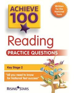 Achieve 100 Reading Practice Questions book
