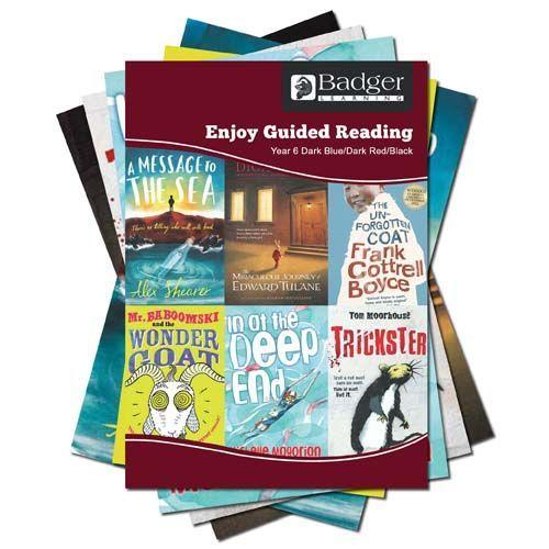 Enjoy Guided Reading KS2 Book Bands: Year 6 Dark Blue, Dark Red & Black Complete Pack