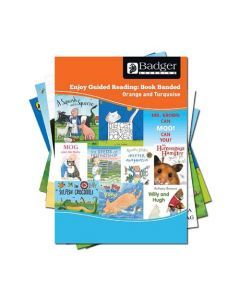 Enjoy Guided Reading Book Band Orange to Turquoise Complete Pack