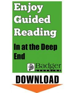 Enjoy Guided Reading: In at the Deep End Teacher Notes