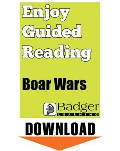 Enjoy Guided Reading: Boar Wars Teacher Notes