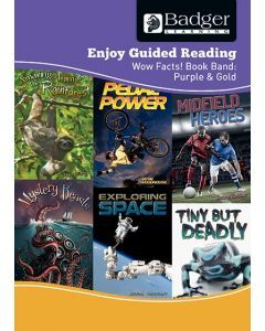 Enjoy Guided Reading Non-Fiction Purple and Gold Level Teacher Book + CD