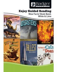 Enjoy Guided Reading Non-Fiction White and Lime Level Teacher Book + CD